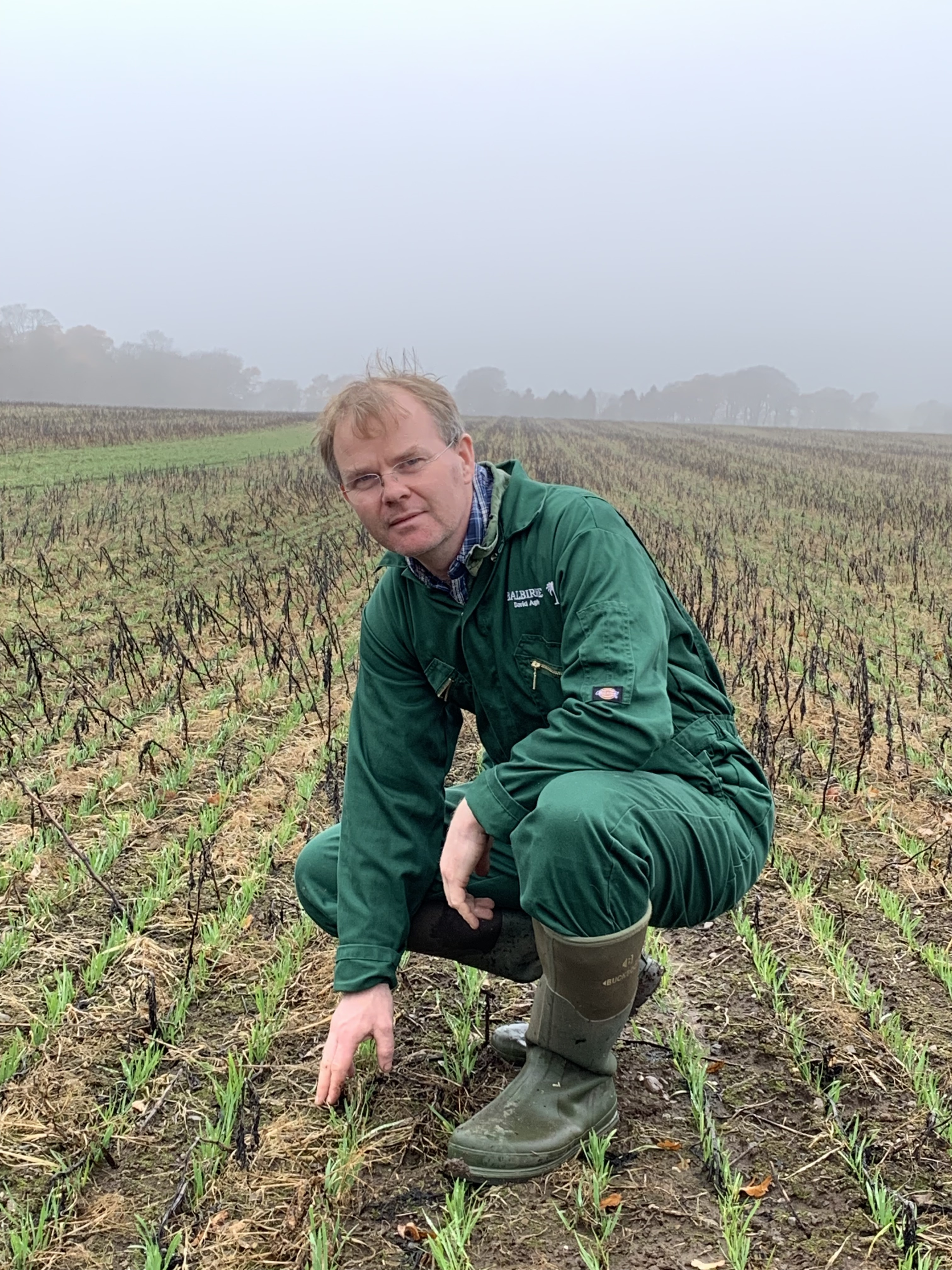 David Aglen hosts the Cereals & Oilseeds Strategic Farm Scotland