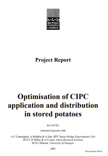 807/207 CIPC Optimisation   AHDB