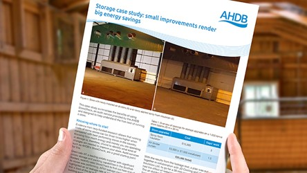 Storage case study: small improvements render big energy savings
