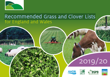 Recommended Grass and Clover Lists Merchants Guide 2019/20