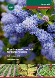 Practical weed control  for nursery stock