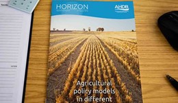 Horizon - Agricultural policy models in different parts of the world - 8 August 2016