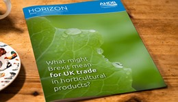 Horizon - What might Brexit mean for UK trade in horticultural products? - 17 January 2017