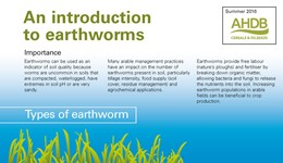 An introduction to earthworms