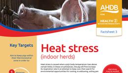 Heat stress - indoor herds