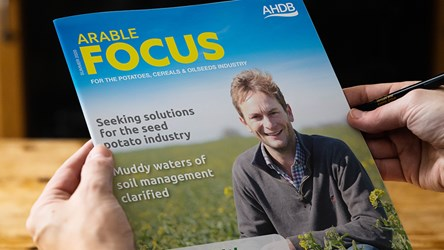 Arable Focus: The journal for potatoes, cereals and oilseeds