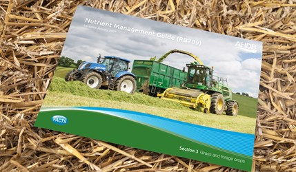 RB209 Section 3 Grass and forage crops