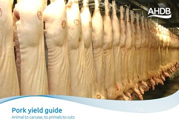 Pork yield guide