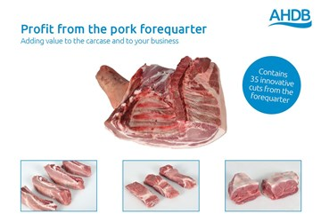 Profit from the pork forequarter