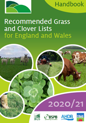 Recommended Grass and Clover Lists 2020/21