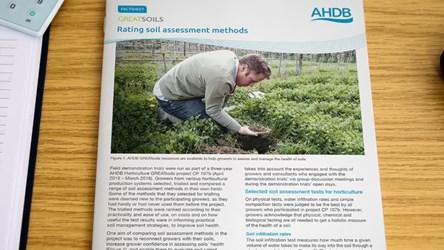 GREATsoils: Rating soil assessment methods