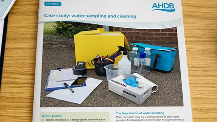 Case study: water sampling and cleaning
