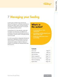 Feeding+ - Managing Your Feeding