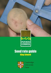 Seed rate guide - King Edward