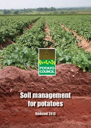 Soil management for potatoes