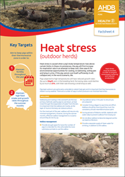 Heat stress - outdoor pig herds