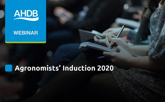 Agronomists' Induction 2020