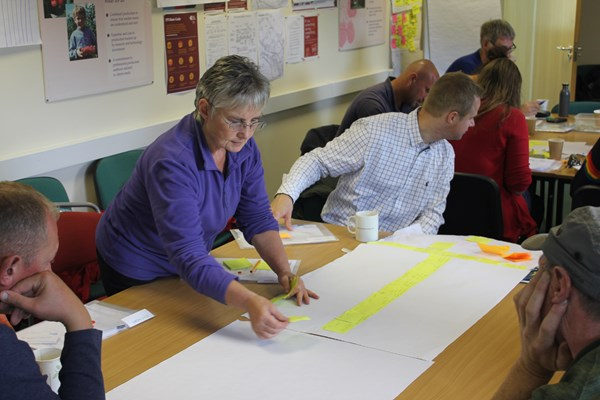 Creating a process map of the picking process